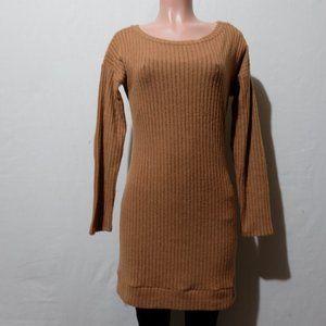 Jella C. Elbow Patch Sweater Dress Size M